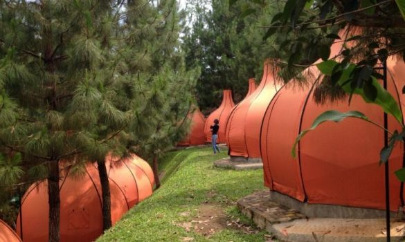 campsites in indonesia