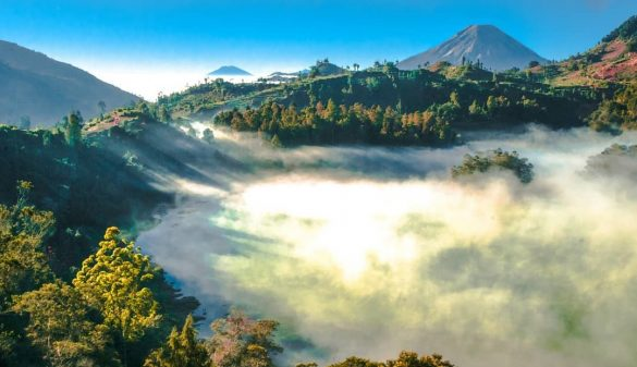 indonesian places with coldest temperature