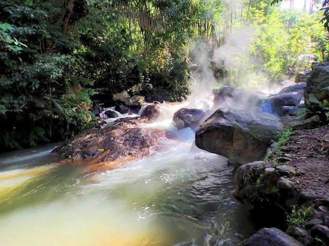 malanage natural hot spring